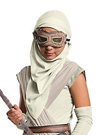 Star Wars 7 Rey Mask & Hood for Kids