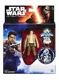 Star Wars - Actionfigur Poe Dameron mit Rüstung