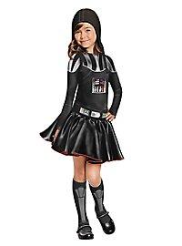 Star Wars Darth Vader Girls Kids Costume