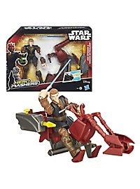 Star Wars - Actionfigur Anakin Skywalker mit Speeder Hero Mashers