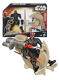 Star Wars - Actionfigur Darth Maul mit Speeder Hero Mashers