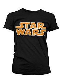 Star Wars - Girlie Shirt Classic Logo