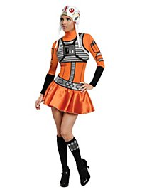 Star Wars Sexy X-Wing Pilot Costume