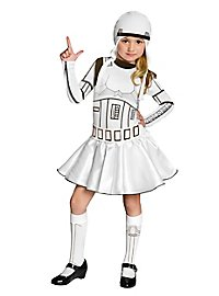 Star Wars Stormtrooper Girls Kids Costume