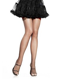 Stay up Stockings black with red lace