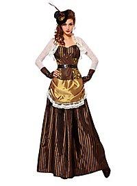Steampunk Abenteurerin Kostüm