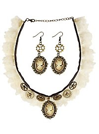 Steampunk accessory set