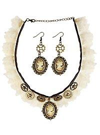 Steampunk accessory set