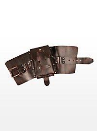 Steampunk Armband mit Messingfernrohr