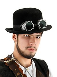 Steampunk Bowler Hat black