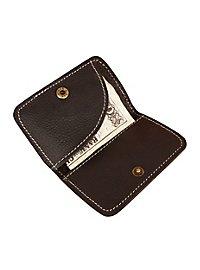Steampunk Brieftasche mit Messing-Plakette