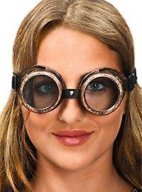Steampunk Brille bronze