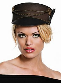 Steampunk Cap with Visor