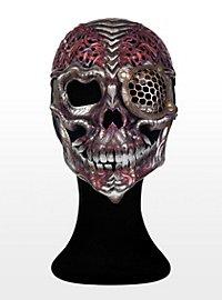Steampunk Cyborg Leather Half Mask