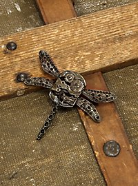Steampunk Dragonfly Brooch