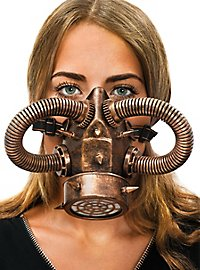 Steampunk Gasmask copper