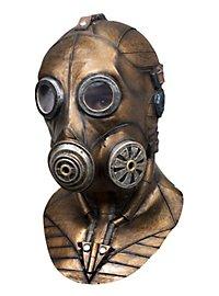 Steampunk Gasmaske aus Latex