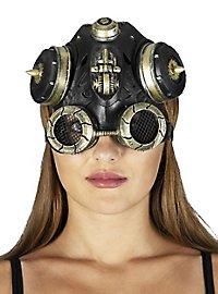 Steampunk Grenadier Kopfbedeckung aus Latex