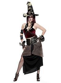 Steampunk Hexe Kostüm