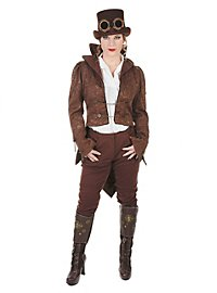 Steampunk Ladies Tailcoat brown