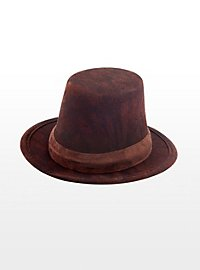 Steampunk Mini Top Hat brown