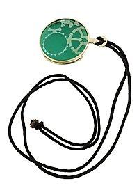 Steampunk Monocle green