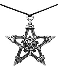 Steampunk Pentagram Necklace