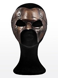 Steampunk Phantom Bronze Ledermaske