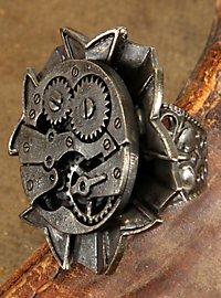 Steampunk Ring Uhrwerk antik