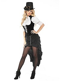 Steampunk Saloon Lady Costume