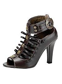 Steampunk Schuhe Damen braun
