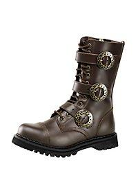 Steampunk Schuhe Herren braun