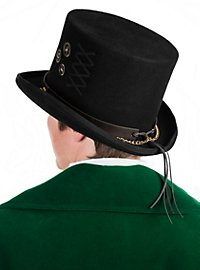 Steampunk Top Hat black