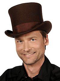Steampunk Top Hat brown