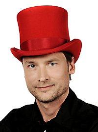 Steampunk Top Hat red