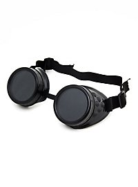 Steampunk Welder Goggles black