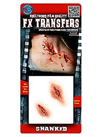 Stichwunde 3D FX Transfers