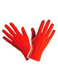 Stoffhandschuhe rot