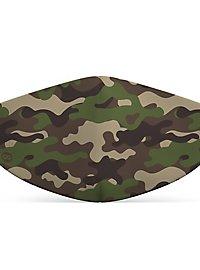 Stoffmaske für Kinder Camouflage