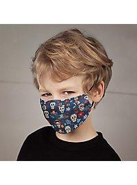 Stoffmaske für Kinder Dia de los Muertos