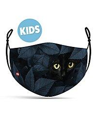 Stoffmaske für Kinder Katze
