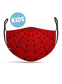 Stoffmaske für Kinder Red Spider Hero