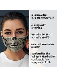 Stoffmaske für Kinder Schädel