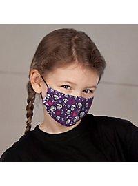 Stoffmaske für Kinder Süße Skelette