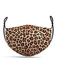 Stoffmaske Leopard