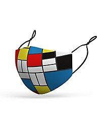Stoffmaske Mondrian