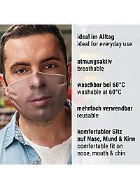 Stoffmaske Mund