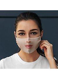 Stoffmaske photorealistische Frau