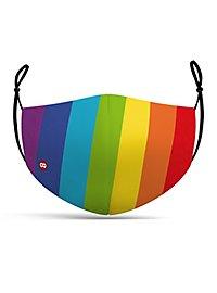 Stoffmaske Regenbogen