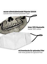 Stoffmaske Schädel